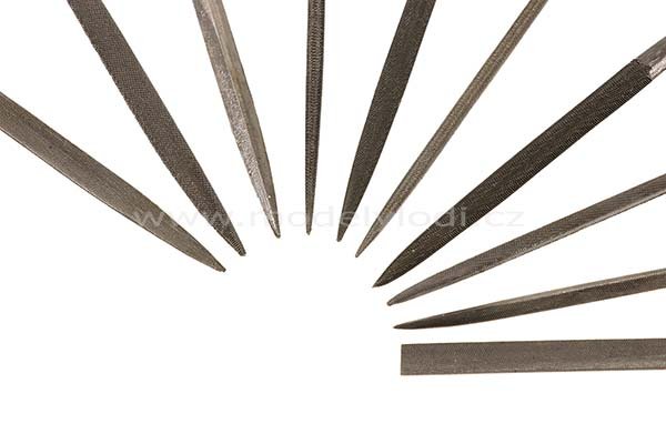 Sada jehlových pilníků (10 ks)