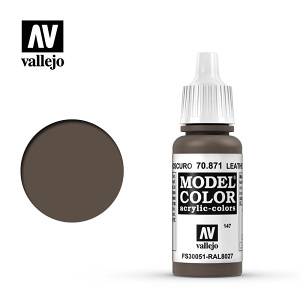 Barva Vallejo Model Color 70871-Leather Brown