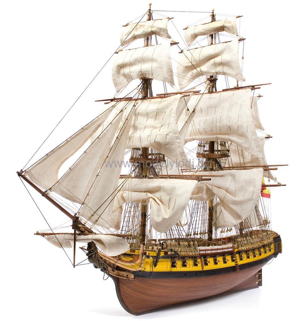 Dřevěné stavebnice | Historické plachetnice | Mercedes | Modely lodí, stavebnice, plány, doplňky ...